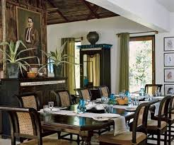 Dining Room British Colonial House Interior Design  British - Colonial dining rooms