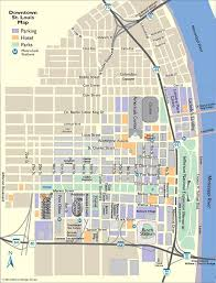 map of st louis downtown map