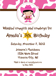 cowgirl party invitations cowgirl party invitations and the party