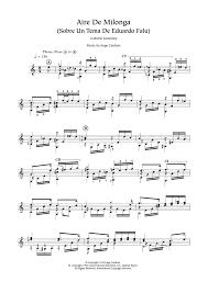 jorge cardoso aire de milonga sheet music at stanton u0027s sheet music