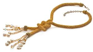bead rope necklace images Bead crochet rope necklace facet jewelry making jpg