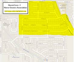 Map To Home Residential Maps Haven Cove Subdivision Phases 1 4