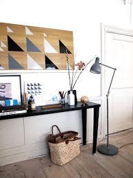 Diy Ikea Half Painted Diy Diy Stripes Chevron Triangles On Wood U0026 Leather