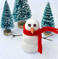 easy clay snowman decoration make life lovely