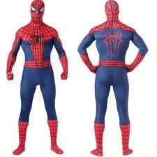 aliexpress com buy red spiderman costume spiderman cosplay