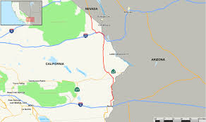 Map Of Arizona And California by U S Route 95 In California Wikipedia