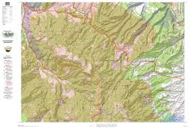 Gmu Map Colorado by Hunting Maps Flat Tops Elk Hunting