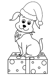 puppies coloring pages holding bone coloringstar