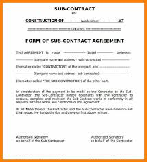 7 work contract sample army memo format