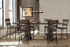 gracie oaks cathie 7 piece counter height dining set wayfair