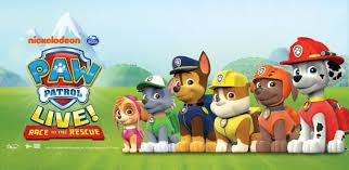 paw patrol live race rescue sse arena wembley