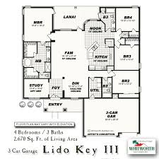 lido key iii new homes in fl whitworth builders