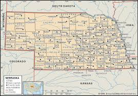 Map Of Counties In Utah by Historical Facts Of Nebraska Counties