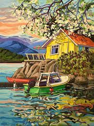 resonance 48x36 by greta guzek art design paintings canadian art and artist