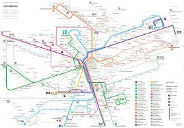 Metrolink Los Angeles Map by Submission U2013 Unofficial Map Bus Routes Of Luxembourg City By Jug