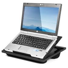 Portable Laptop Desk On Wheels by Portable Lap Desk Adjustable Laptop Stand Bed Computer Notebook