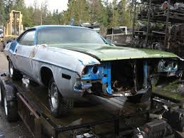 1970 71 dodge challenger for sale sell 1971 dodge challenger project car 71 in port angeles