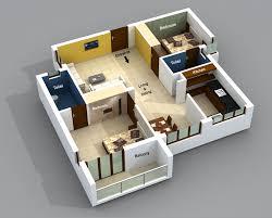 best 2 bhk home design fascinating home plan 3d 1bhk ideas best inspiration home design