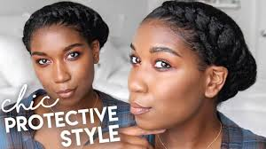recent tv ads featuring asymmetrical female hairstyles asymmetrical twisted crown protective hairstyles natural hair