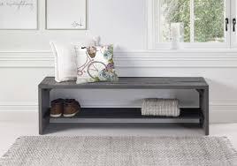 loon peak arocho rustic solid reclaimed wood storage bench
