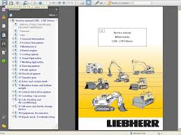 liebherr l506 l510 stereo wheel loader service manual repair