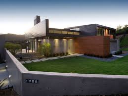 Modern Exterior Design Of The Small Modern Homes That Has Concrete - Exterior design homes