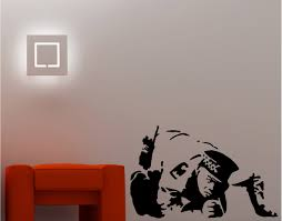 banksy wall stickers ebay banksy style cop snorting wall art sticker vinyl quote graffiti lounge kitchen