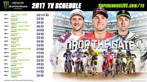motocross monster energy gear 2017 monster energy supercross tv schedule fox sports infographic