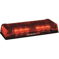 whelen ambulance light bar whelen responder lp red led mini lightbar permanent mount 17 l