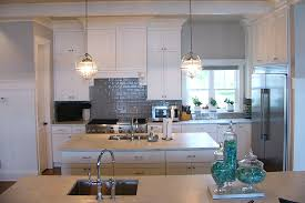 kitchen with 2 islands and crown molding anthony thomas builders