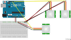 how to wire a motion sensor to multiple lights how to wire pir sensor light youtube inside motion switch wiring