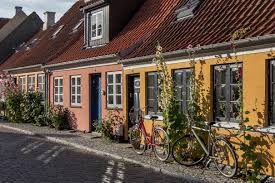 cute towns a relaxing finish aero island denmark cooking in tongues