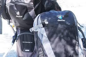 Kid Comfort Iii Gear Review Deuter Airlite 28 Gear Reviews Trip Reports
