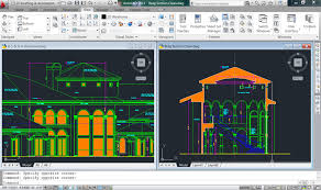 layout en autocad 2015 using the split screen in autocad