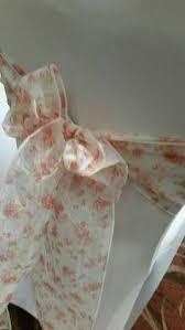 Pink Chair Sashes Organic Soft Cotton Chair Sash Set Of 2 Tie Die Bandhani Wedding