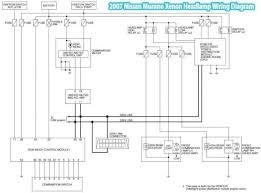 2007 nissan murano wiring diagram wiring diagram