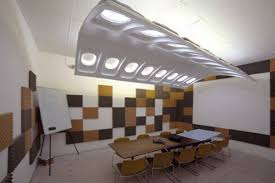 Office Ceiling Lights Recycling Old Plane Windows For Contemporary Lighting Design
