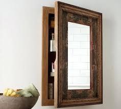 Recessed Medicine Cabinet Wood Door Rustic Medicine Cabinet Wood Medicine Cabinets Wooden Medicine
