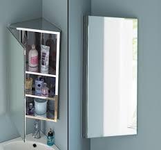 Bathroom Wall Medicine Cabinets Bathroom With Wall Sconce And Recessed Medicine Cabinets