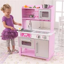 Retro Kitchen Sets by Elegant Pink Play Kitchen Accessories