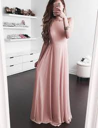 simple dresses buy a line square sleeveless floor length blush chiffon prom dress
