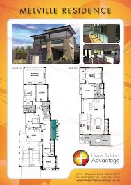 floor plans for narrow lots floor plan two storey narrow lot custom design upside down house
