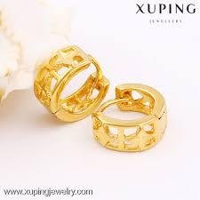 pressure earrings 2016 hot gold earring designs cheap 24k gold plated