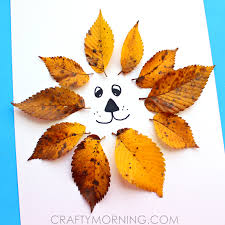 easy leaf craft crafts lions and kid crafts