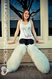 halloween boot covers made to order thigh high fluffies above the knee choose your