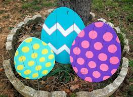 easter decorations on sale easter decor outdoor easter decor 1 large wood easter egg