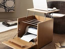home office classic style small computer desk design with file