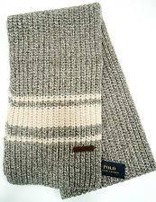 ralph lauren striped scarves for men ebay