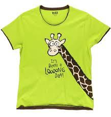 s day giraffe it s been a looong day giraffe women s pj