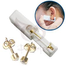 sterilized ear piercing studs dreamlee sterilized disposable ear piercing gun tools with rainbow